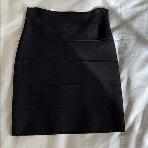 BCBG Black Bandage Skirt